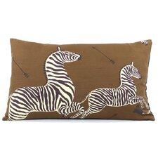 Zebra Migration Decorative Lumbar Pillow