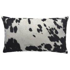 Cow Abunga Faux Cowhide Lumbar Pillow