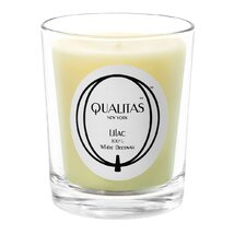 Beeswax Lilac Scented Candle