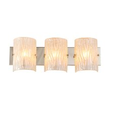 Brilliance 3 Light Bath Vanity Light