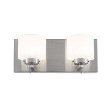 Clean 2 Light LED Vanity Light