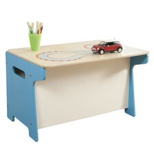 Race Track Toy Box / Desk