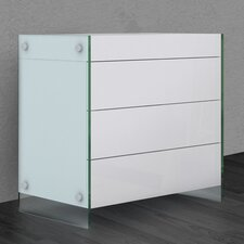 Il Vetro 3 Drawer Bachelor's Chest