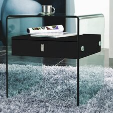 Bari 1 Drawer Nightstand