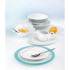 Trio 16-piece Porcelain Dinnerware Set