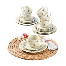 Marie Luise 18 Piece Porcelain Coffee Set