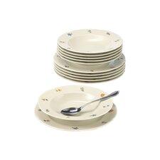 Marie Luise 12-Piece Porcelain Tableware Set