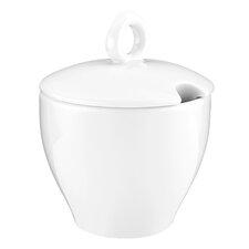Zuckerdose M5342 Coffe-e-Motion in Weiß mit Deckel