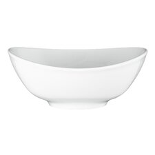 "16cm Suppenbowl oval ""Modern Life 5238"" in Uni / Weiß"