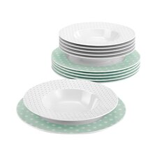No Limits 12-Piece Dinnerware Set