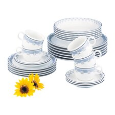 Compact 30-Piece Dinnerware Set