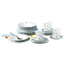 Sonate 30-Piece Porcelain Dinnerware Set