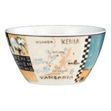 "13 cm Schale 5121 ""Tipico Italiano VIP"" aus Porzellan in Kenia-Dekor"