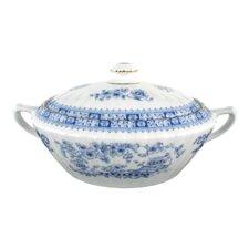 """Terrine oval """"Dorothea"""" in 24800 China Blau"""