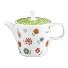 1,2 L Teekanne aus Porzellan