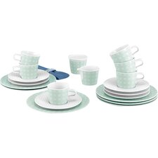 No Limits 20-Piece Porcelain Coffee Service Set