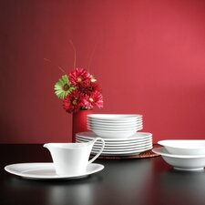 Top Life White 16 Piece Dinnerware Set