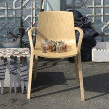 Armlehnstuhl Seame aus Massivholz