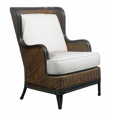 Outdoor Palm Beach Lounge Chair with Cushions