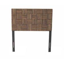 Plaid Wood Headboard