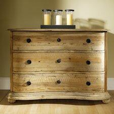Salvaged Wood 3 Drawer Dresser