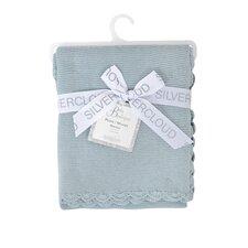 Baby Boutique Silvercloud Garter Stitch Blanket
