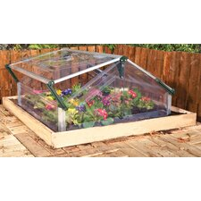 Double 1.1m x 1m Greenhouse