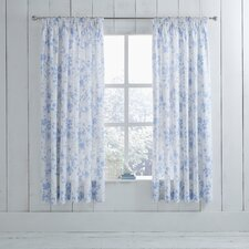 Amelie Lined Pencil Pleat Curtains (Set of 2)