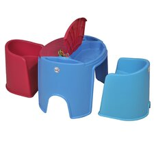 Children's Round 3 Piece Table and Chair Set