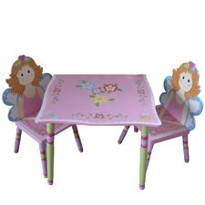 Fairy Children's 3 Piece Table and Chair Set