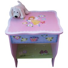 Fairy 1 Drawer Bedside Table