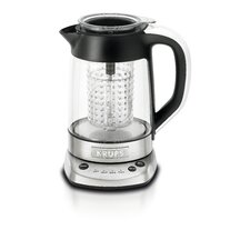 1.27-qt. 2 in 1 Glass Tea Kettle
