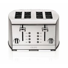 4-Slice Toaster in Silver