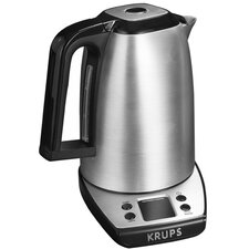 Savoy 1.7-qt. Stainless Steel Electric Tea Kettle in Silver
