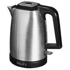 Savoy Stainless Steel 1.7-qt. Electric Tea Kettle in Sliver