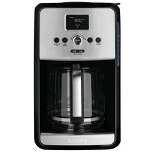 Savoy Programmable Filter Stainless Steel Coffee Maker