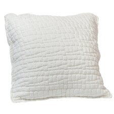 Pebble Quilted Pongee Decorative Throw Pillow