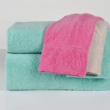 Embossed Roses Microfleece™ Sheet Set
