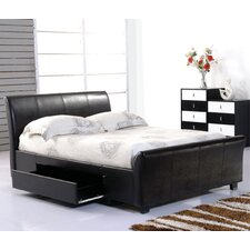 Ascot Upholstered Storage Bed Frame
