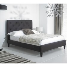 Lucia European Double Upholstered Bed Frame