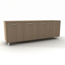 "Currency 4 Door 66"" Credenza"
