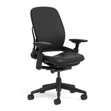 Quick Ship Leap® Leather Office Chair