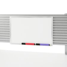 Worktools Marker Wall Mounted Whiteboard, 1' H x 2' W