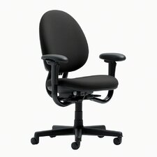 Criterion High-Back Pneumatic Upholstered Office Chair