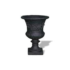 ResinStone Rose Urn without Handles