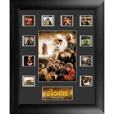 The Goonies Mini Montage FilmCell Presentation Framed Vintage Advertisement