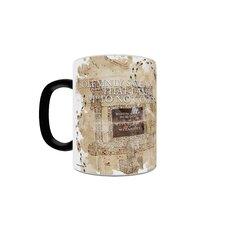 World of Harry Potter Marauder's Map Heat Changing Morphing Mug