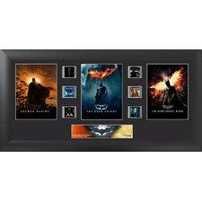 Batman The Dark Knight FilmCell Trilogy FramedVintage Advertisement