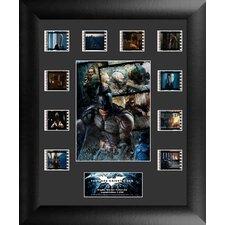 Batman The Dark Knight Rises Mini Montage FilmCell Presentation Framed Vintage Advertisement