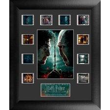 Harry Potter 7 Part 2 Mini Montage FilmCell Presentation Framed Vintage Advertisement